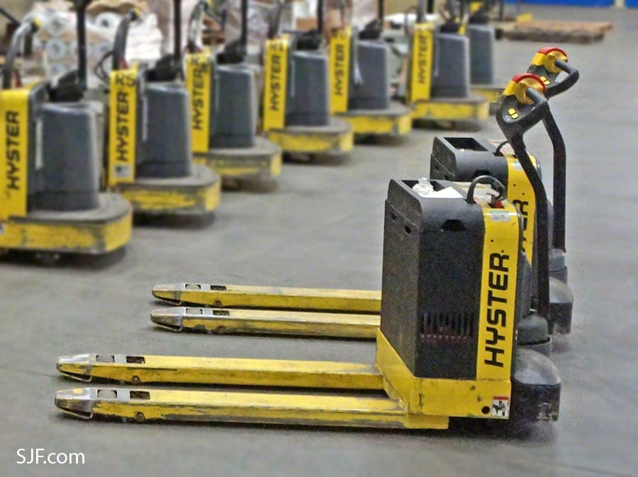 Hyster Electric Pallet Jacks – Non Rider Models