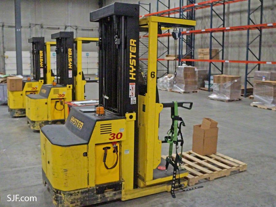 Used Order Picker Forklifts | SJF.com