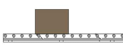 Accumulation Conveyor Cross Section
