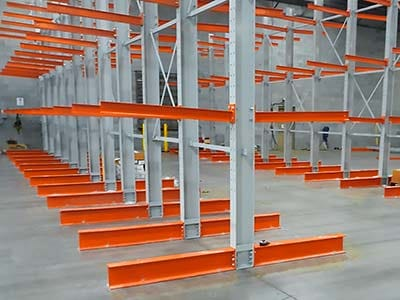 Cantilever Racking Photo
