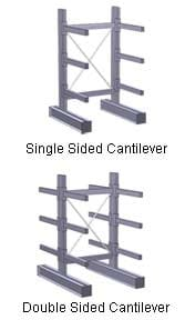 Single Sided and Double Sided Cantilever Rack