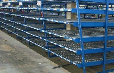 Carton Flow Rack Photo