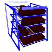 Carton Flow Rack Components