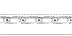Chain Driven Conveyor Cross Section