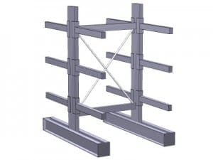 Double Sided Cantilever Rack