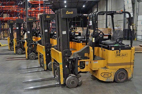 Guide to Forklifts & Fork Trucks