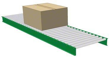 Gravity Powered Roller Conveyor