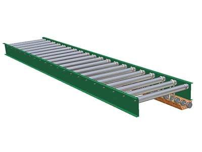 Lineshaft Powered Roller Conveyors (New & Used) | SJF com