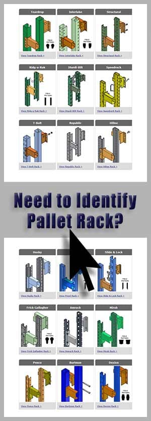 Identify Pallet Racking By Photo