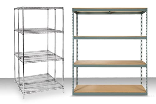 New & Used Shelving Storage Systems