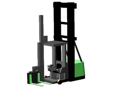 Swing Reach Forklift