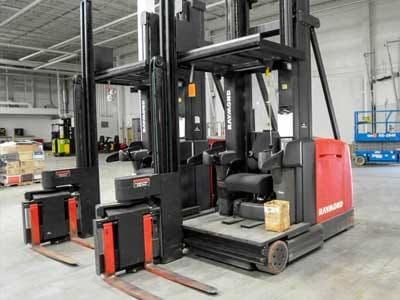 Swing Reach Forklifts
