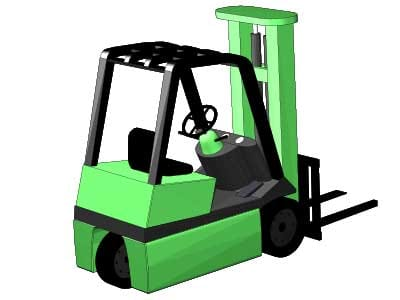 Three Wheel Forklift