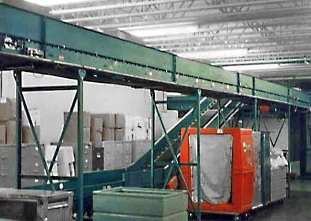 Trash Conveyors - Overhead Conveyors