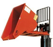 Self Dumping Hopper with Forklift