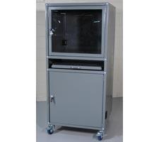 Deluxe Computer Cabinet
