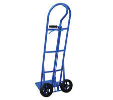 Dual Direction Hand Cart with Wheels Turned