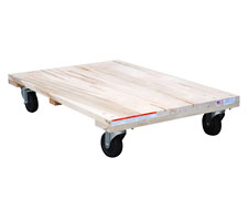 Solid Deck Hardwood Dolly
