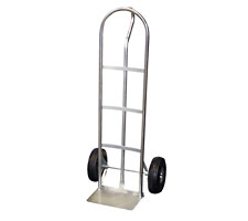 Steel P Handle Hand Truck with Pneumatic Wheels