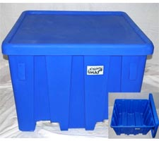 P-291 (27.5 cu ft) Bulk Forklift Container