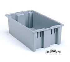 Grey Nest & Stack Tote, model: 35180