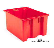 Red Nest & Stack Tote, model: 35230