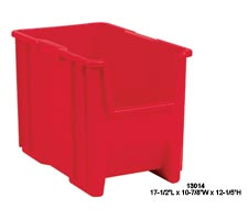 Red Stack and Store Tote, model: 13014