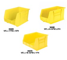 Tote Models: 30260, 30265, 30270, in yellow