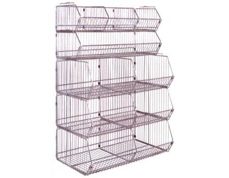 Modular Wire Bins & Baskets - SJF.com