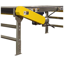 Sliderbed Belt Conveyor Side Mounted Motor/Drive