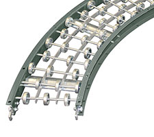 Light Duty Skatewheel Gravity Conveyor Curves
