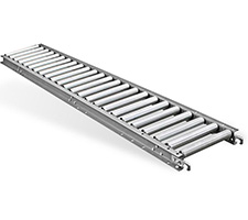 Light Duty Gravity Roller Conveyor - Aluminum Frame