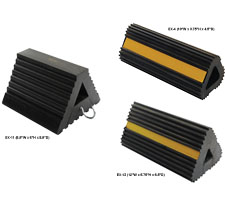 Extruded Rubber Wheel Chocks