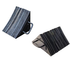 Laminated Rubber Wheel Chocks