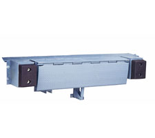 Hydraulic Edge of Dock Leveler in Closed Position