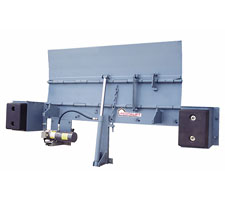 Hydraulic Edge of Dock Leveler in Open Position