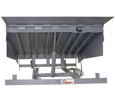 Front View of Underside of Hydraulic Dock Leveler