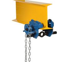 Chain/Gear Eye Trolley - 1,000 pound capacity