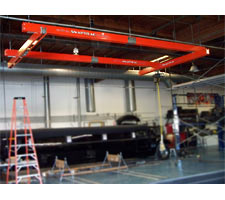 SnapTrac Ceiling Hung Bridge Crane
