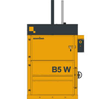 B5W Wide Opening Small Footprint Baler