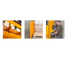 Integrated Strapping Holders, Barbed Chamber, Easy and Safe Operation