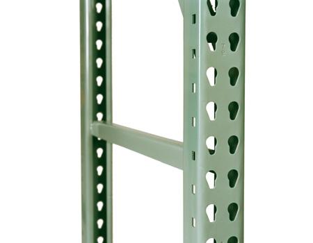 Interlake Teardrop Pallet Rack Upright Frames Sjf Com