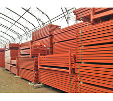 New Pallet Rack Beams In-Stock at SJF