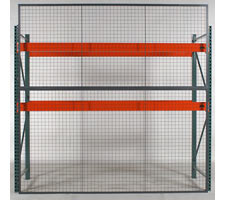 Head-on View of Rack Back Mesh