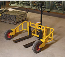 All Terrain Pallet Jack - Reverse View