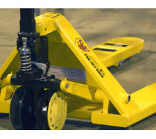 Closeup of Pallet Jack w/Pump