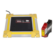 Safety Mat, Edging and PRSU-4 Controller (for 24 V AC/DC Supply)