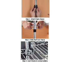 Wire Shelving Assembly Instructions