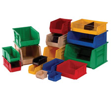 Standard Plastic Tote Bins