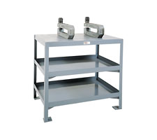 3 Shelf Welded Machine Table
